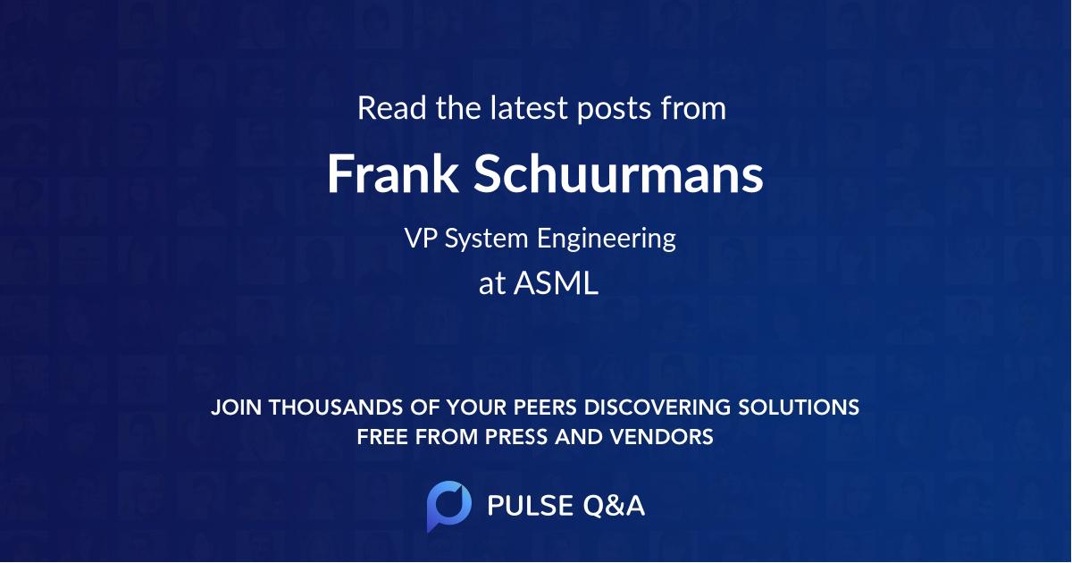 Frank Schuurmans