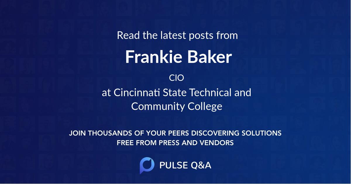 Frankie Baker