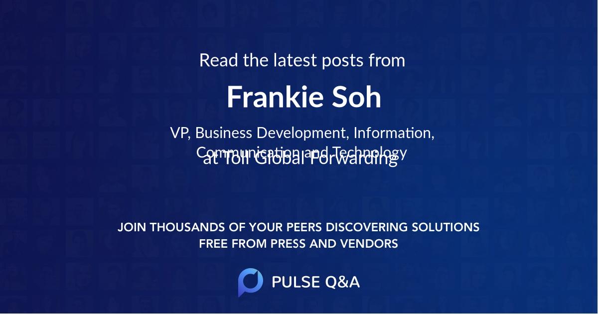 Frankie Soh