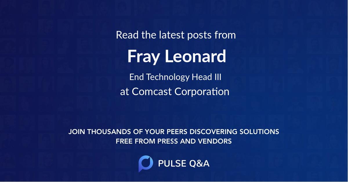 Fray Leonard