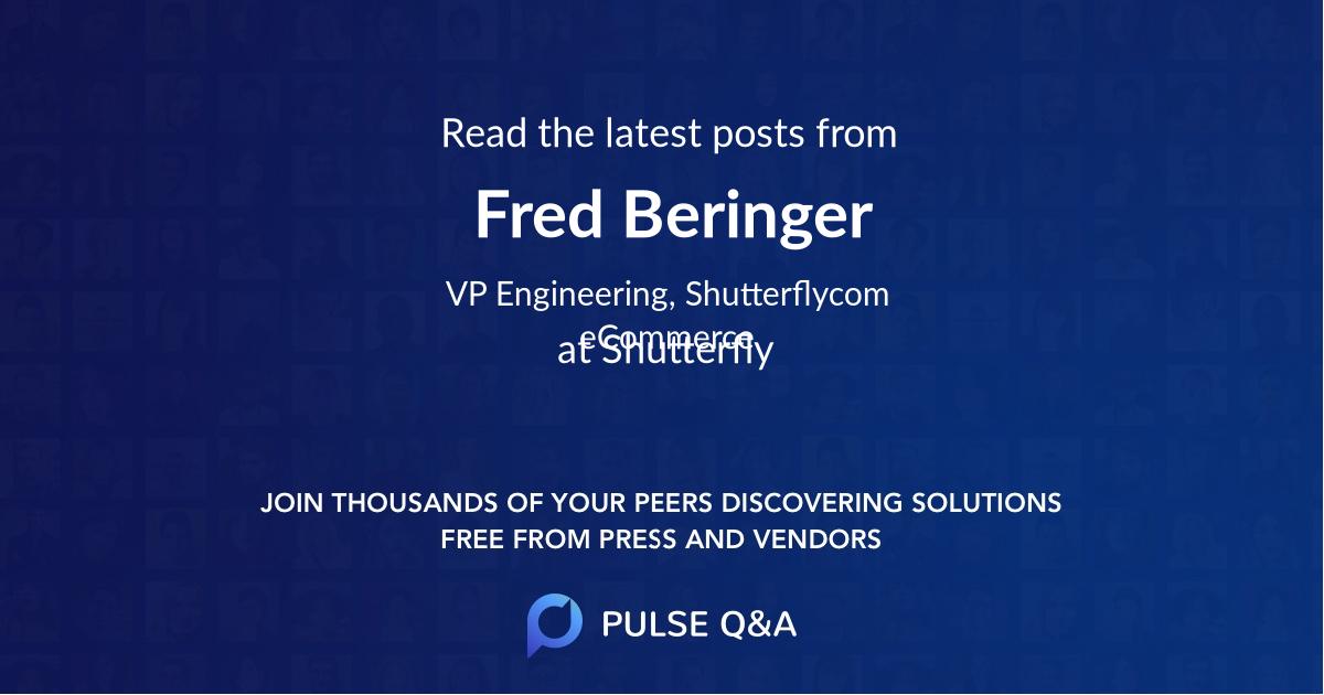 Fred Beringer