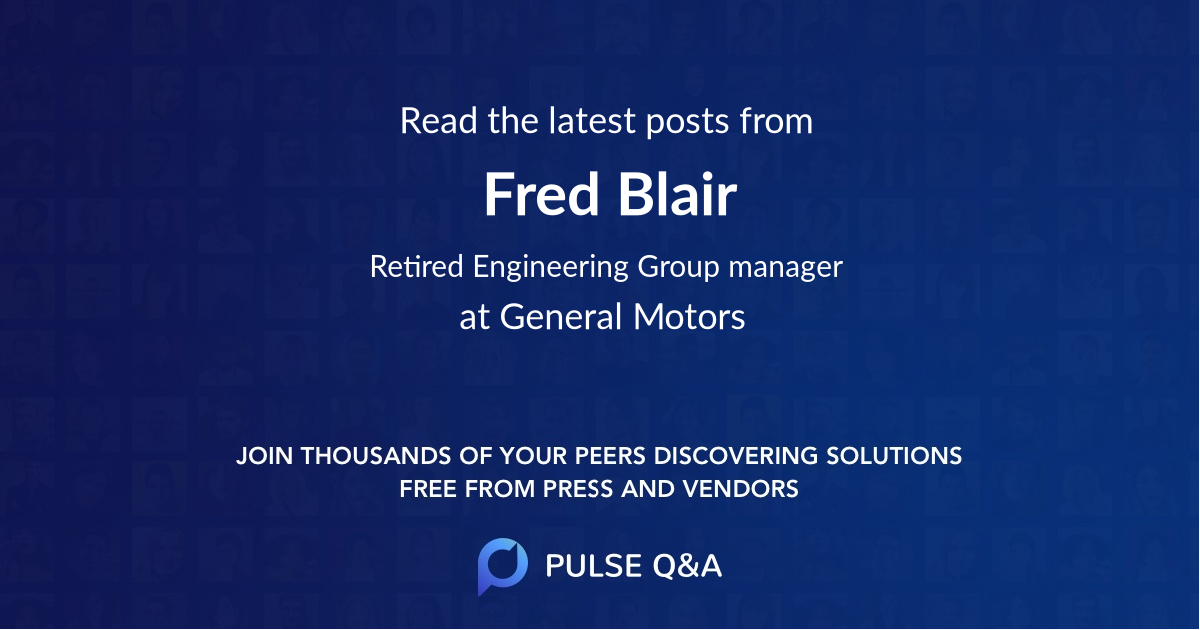 Fred Blair