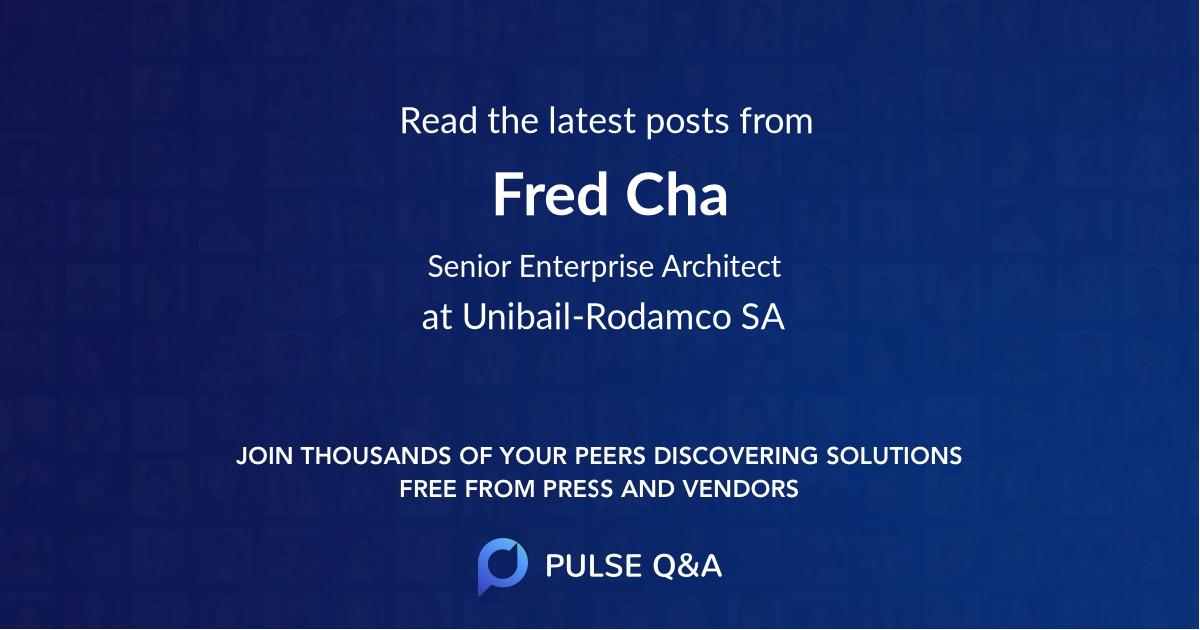 Fred Cha