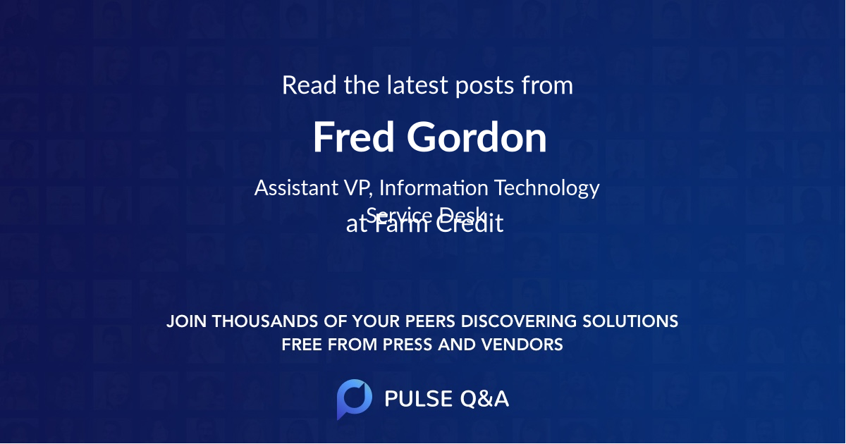 Fred Gordon