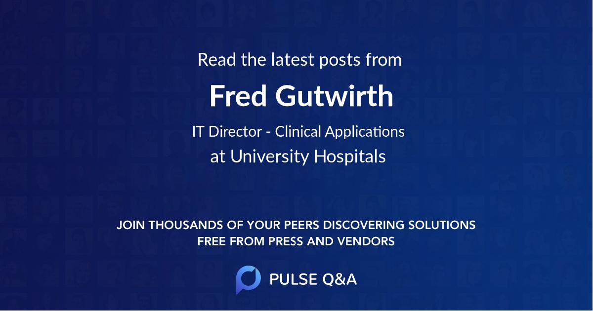 Fred Gutwirth
