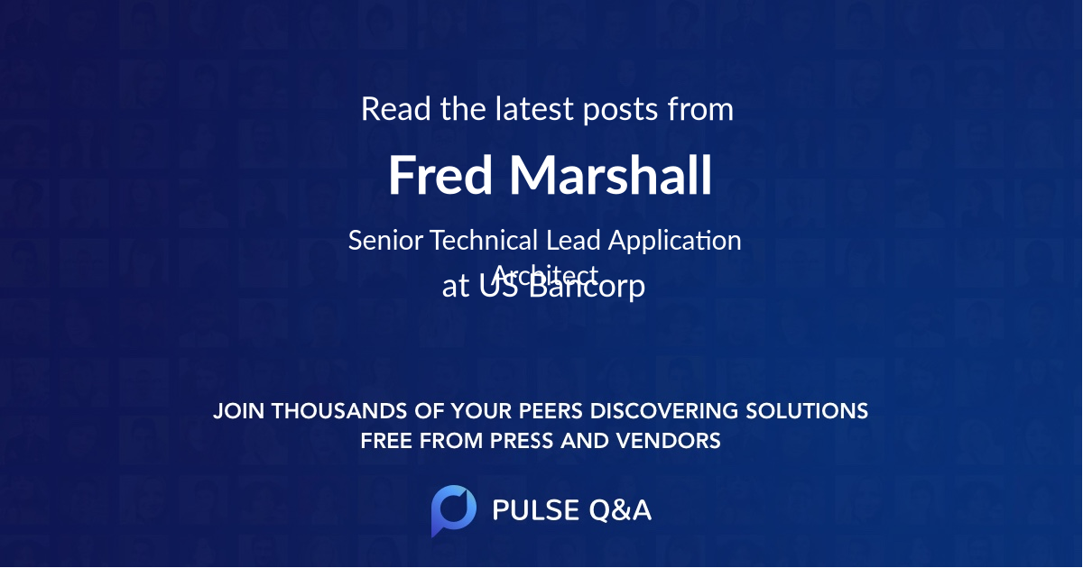 Fred Marshall