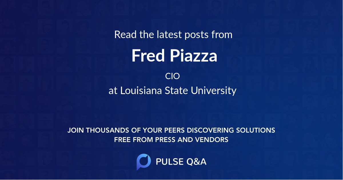 Fred Piazza