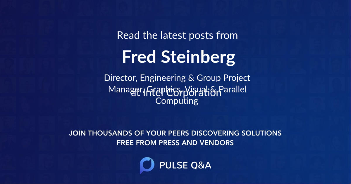 Fred Steinberg