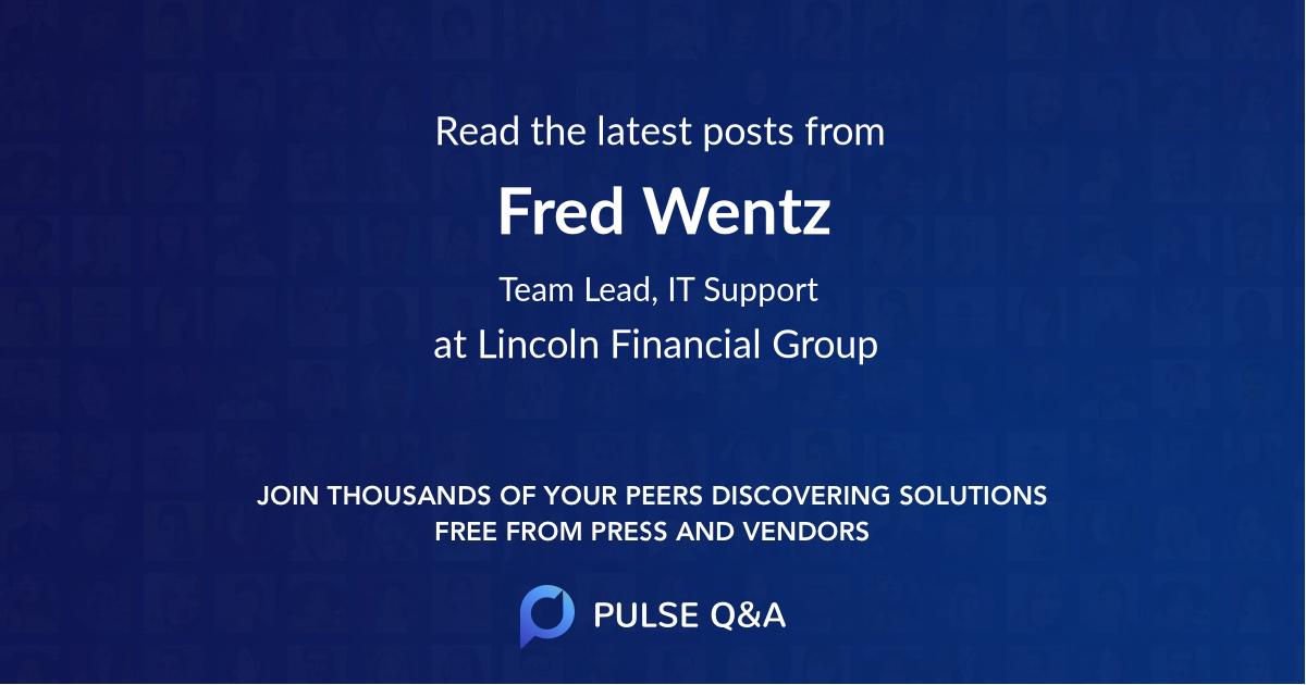 Fred Wentz
