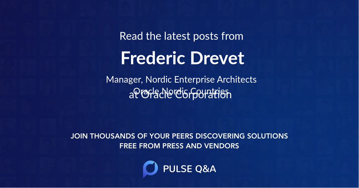 Frederic Drevet