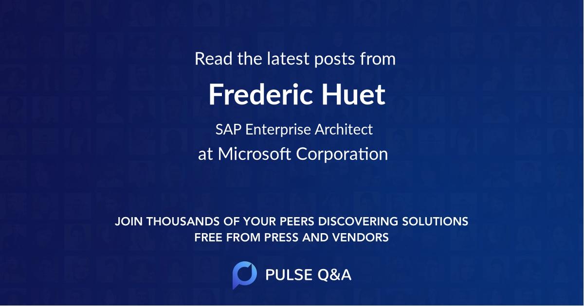 Frederic Huet