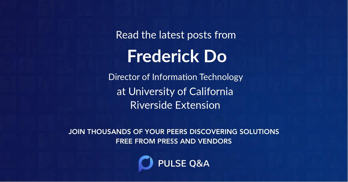 Frederick Do