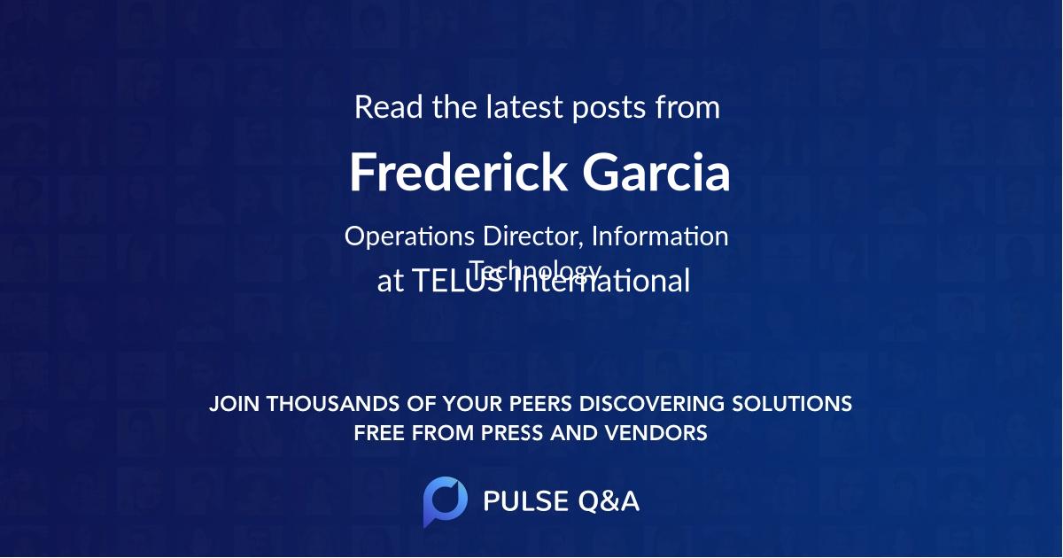 Frederick Garcia