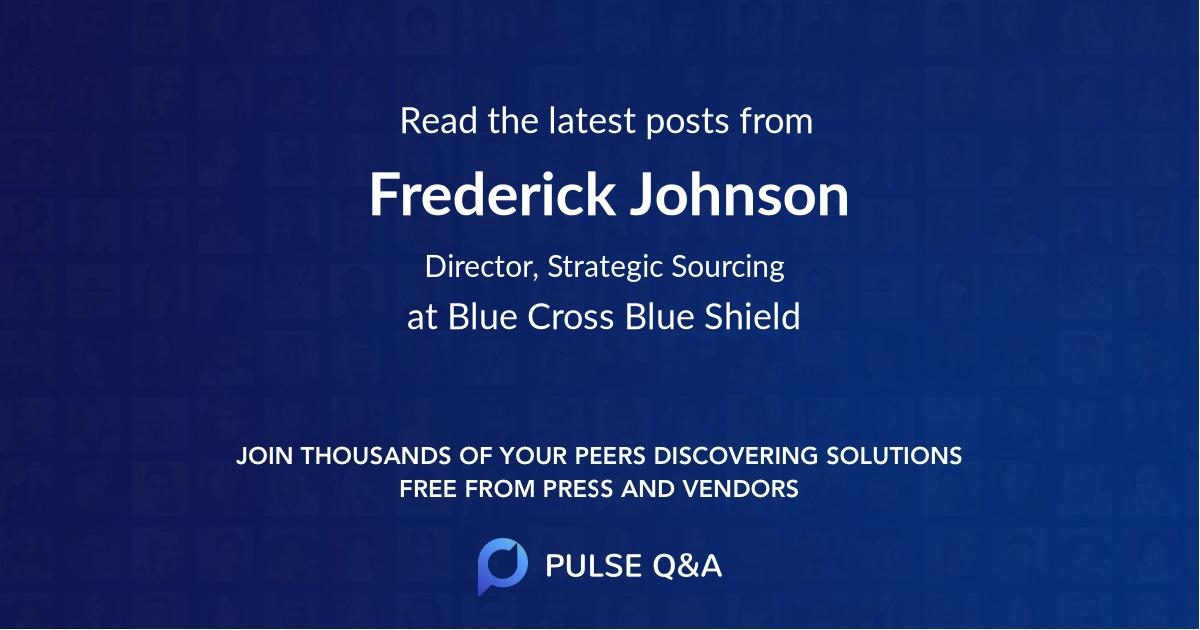 Frederick Johnson