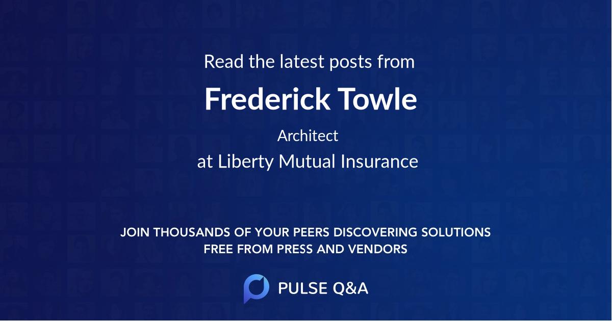 Frederick Towle