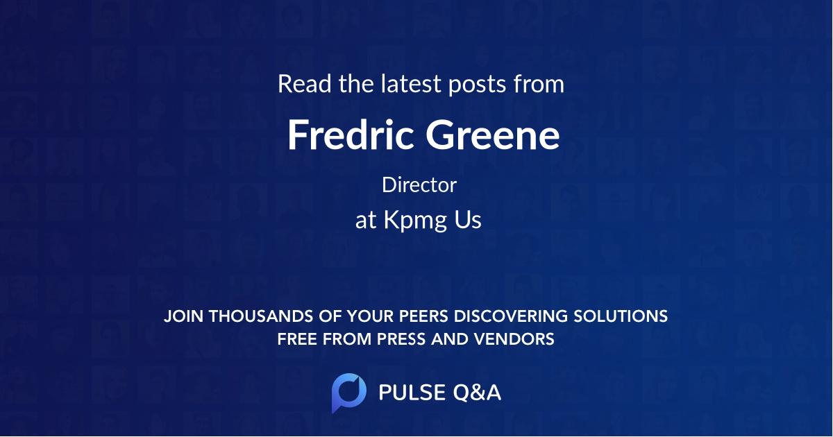 Fredric Greene
