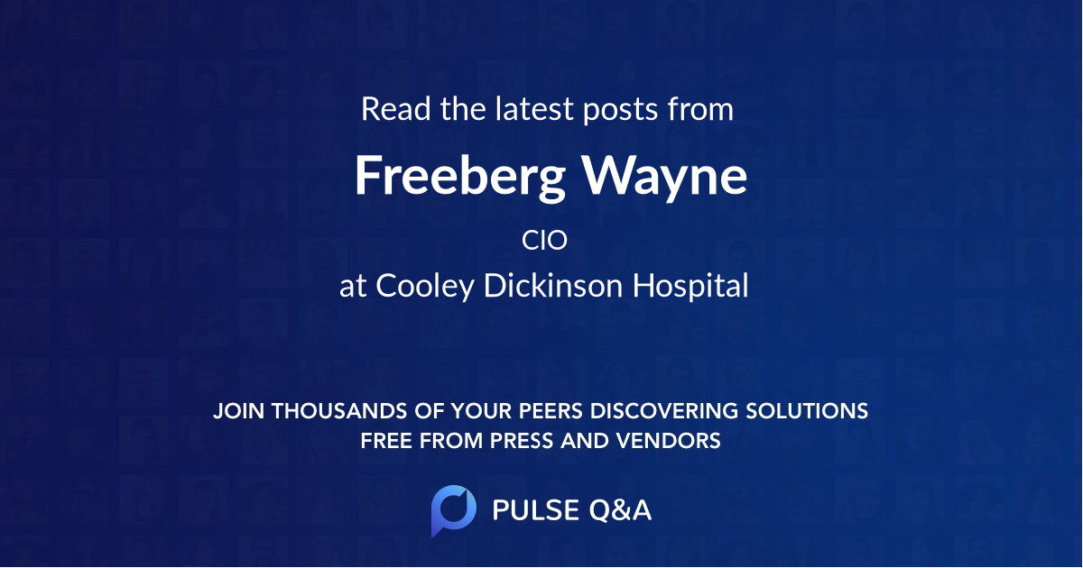 Freeberg Wayne