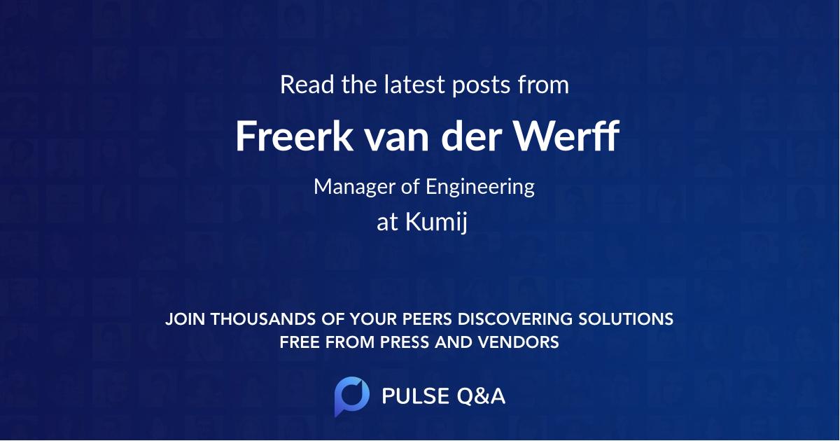 Freerk van der Werff