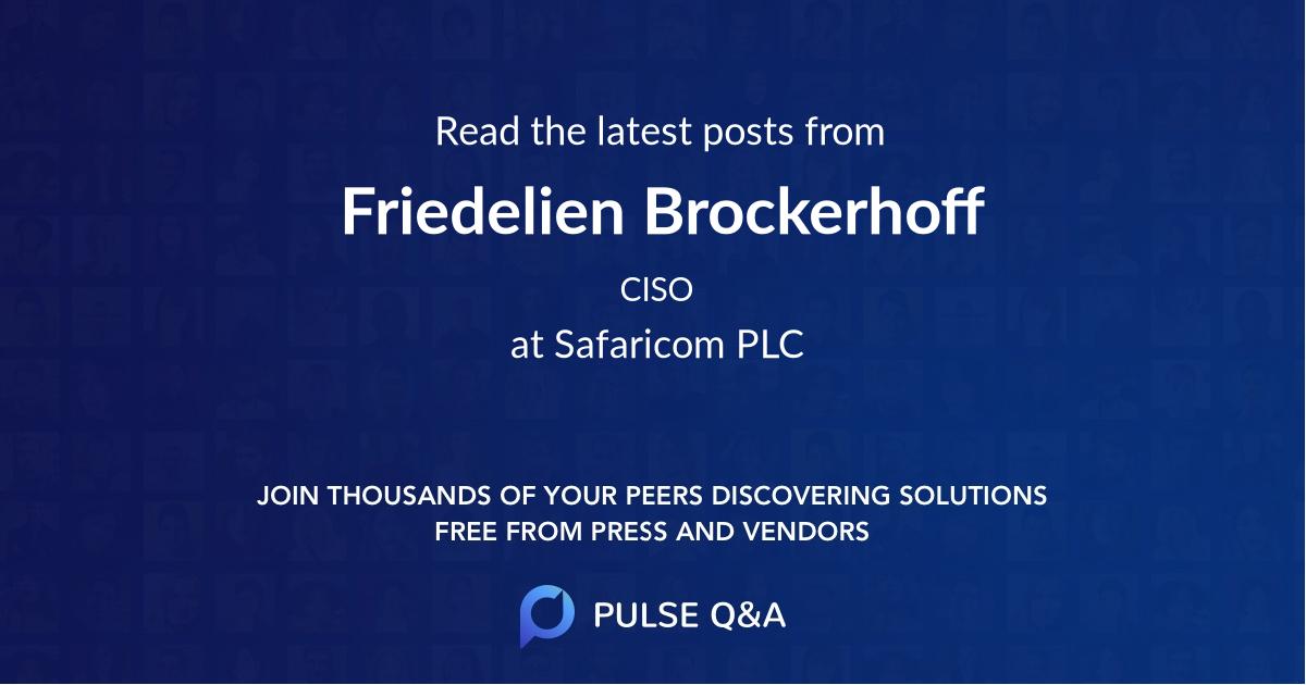 Friedelien Brockerhoff