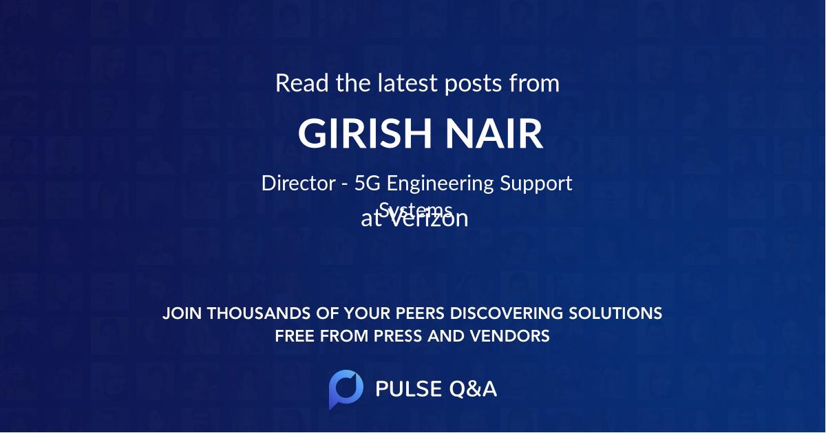 GIRISH NAIR