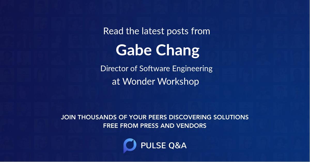 Gabe Chang
