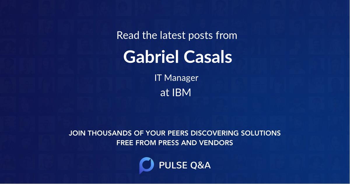 Gabriel Casals