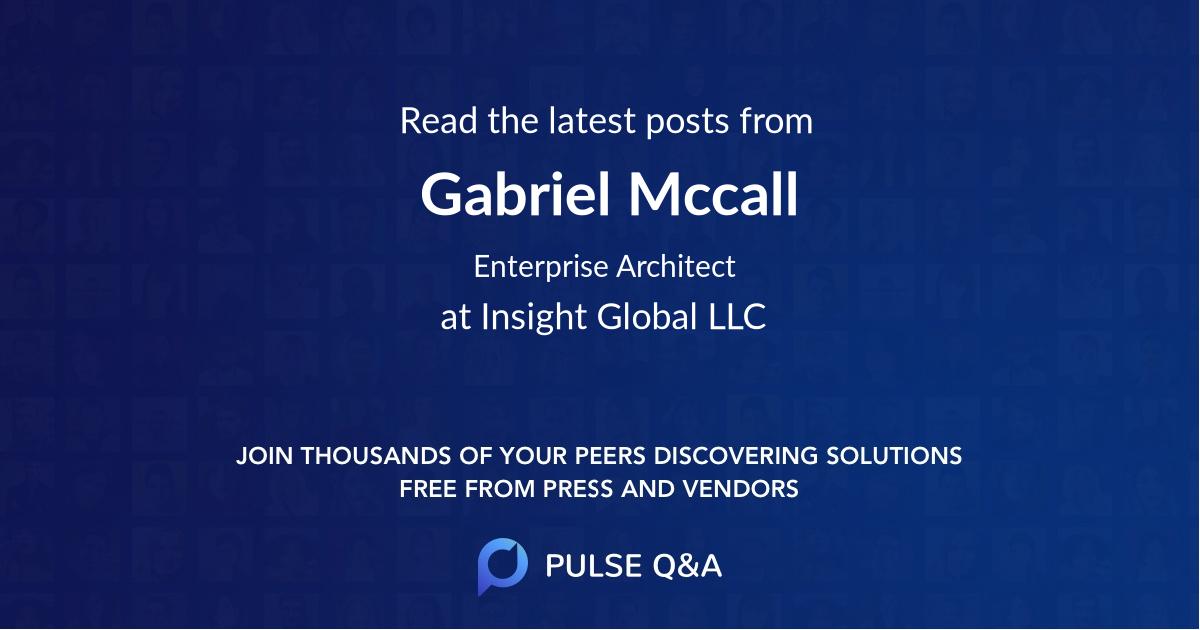 Gabriel Mccall