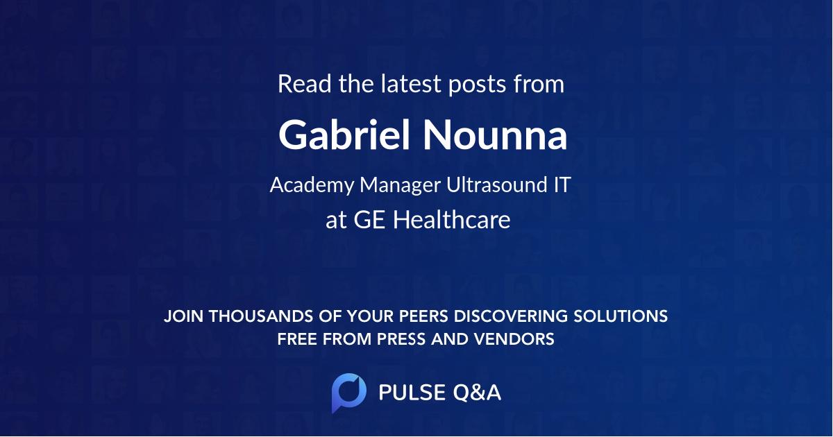 Gabriel Nounna
