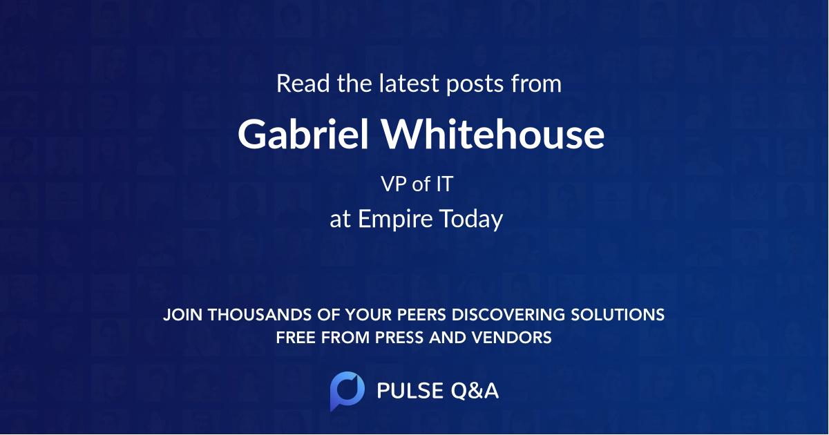 Gabriel Whitehouse