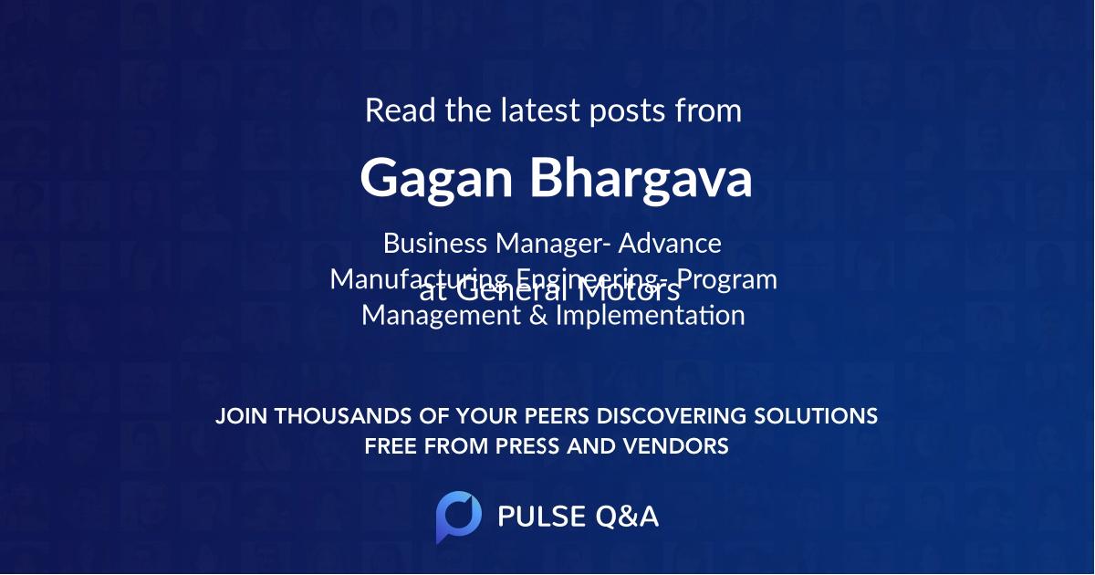Gagan Bhargava