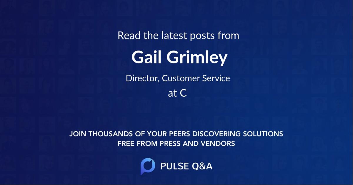 Gail Grimley