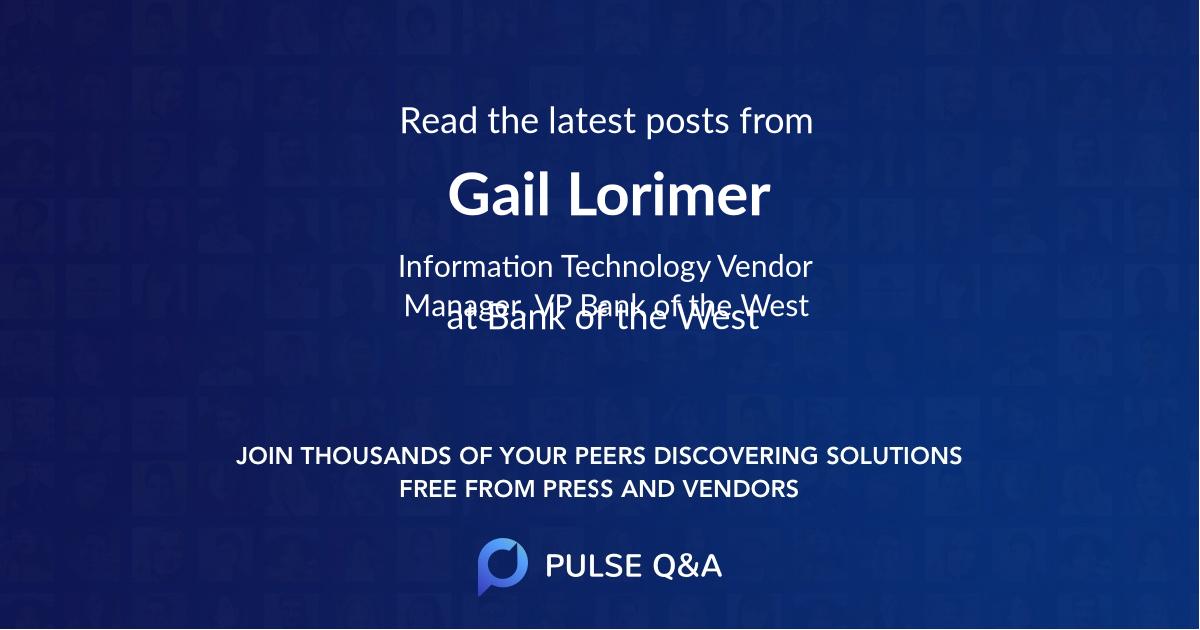 Gail Lorimer