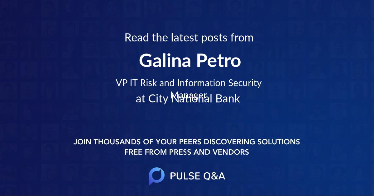 Galina Petro