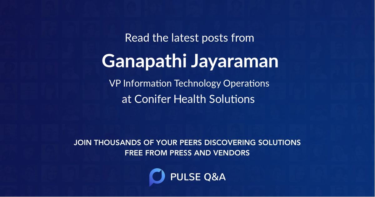 Ganapathi Jayaraman