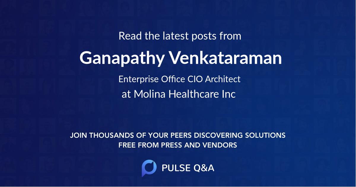 Ganapathy Venkataraman