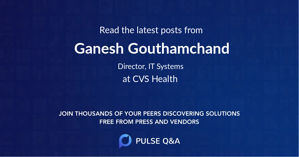 Ganesh Gouthamchand