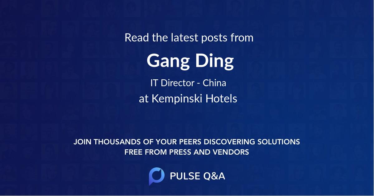 Gang Ding