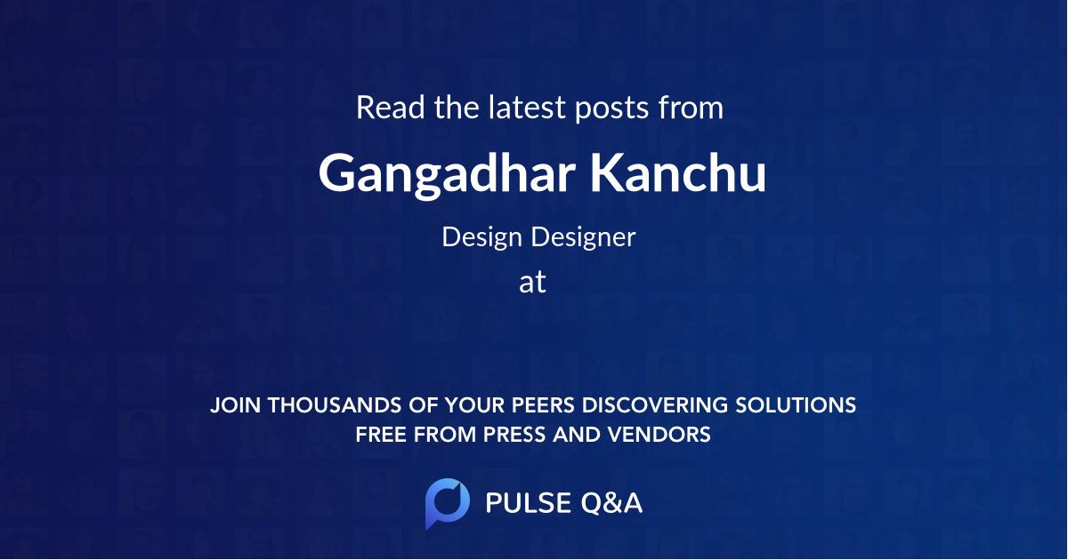 Gangadhar Kanchu