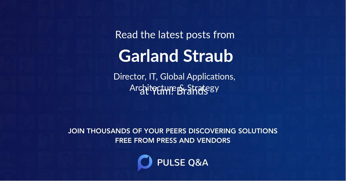 Garland Straub