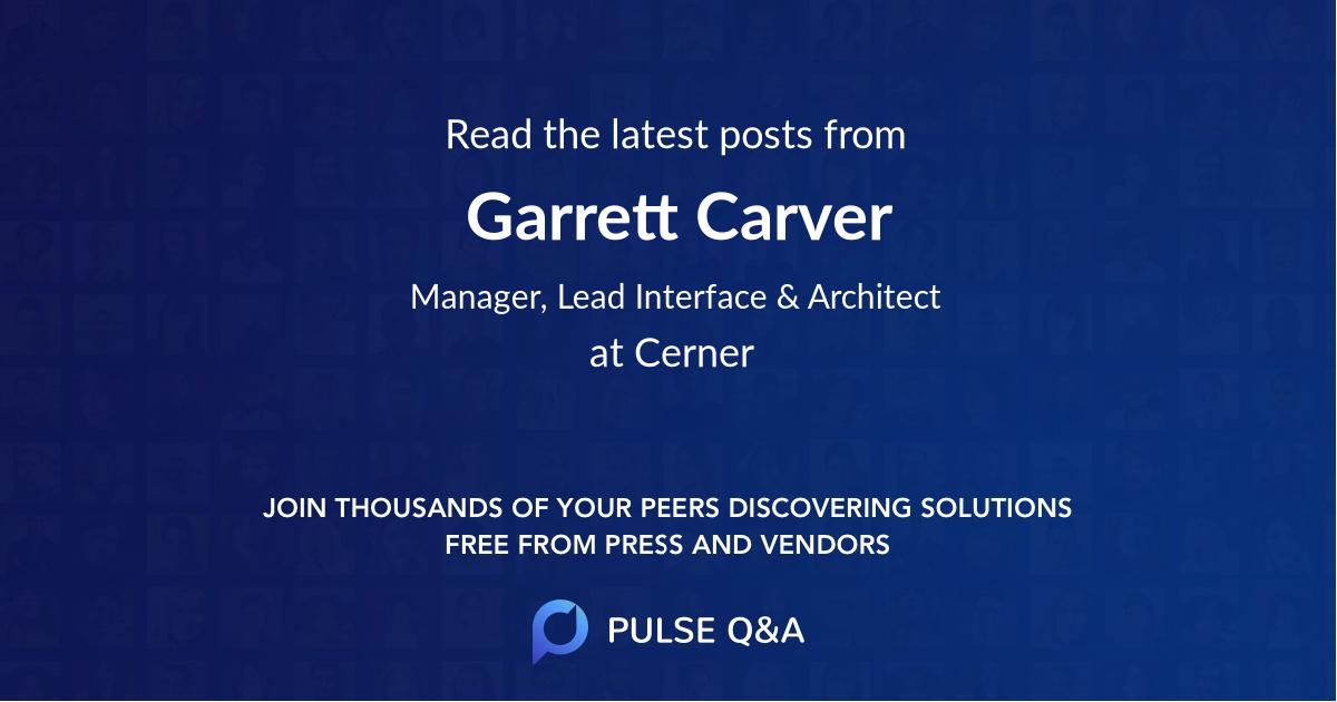 Garrett Carver