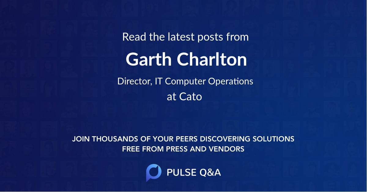 Garth Charlton