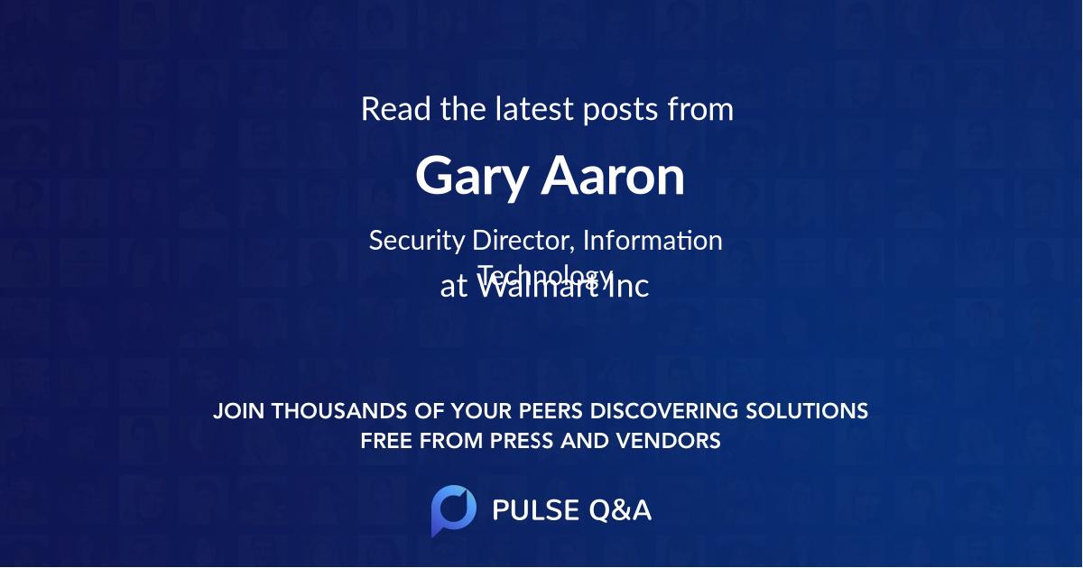 Gary Aaron