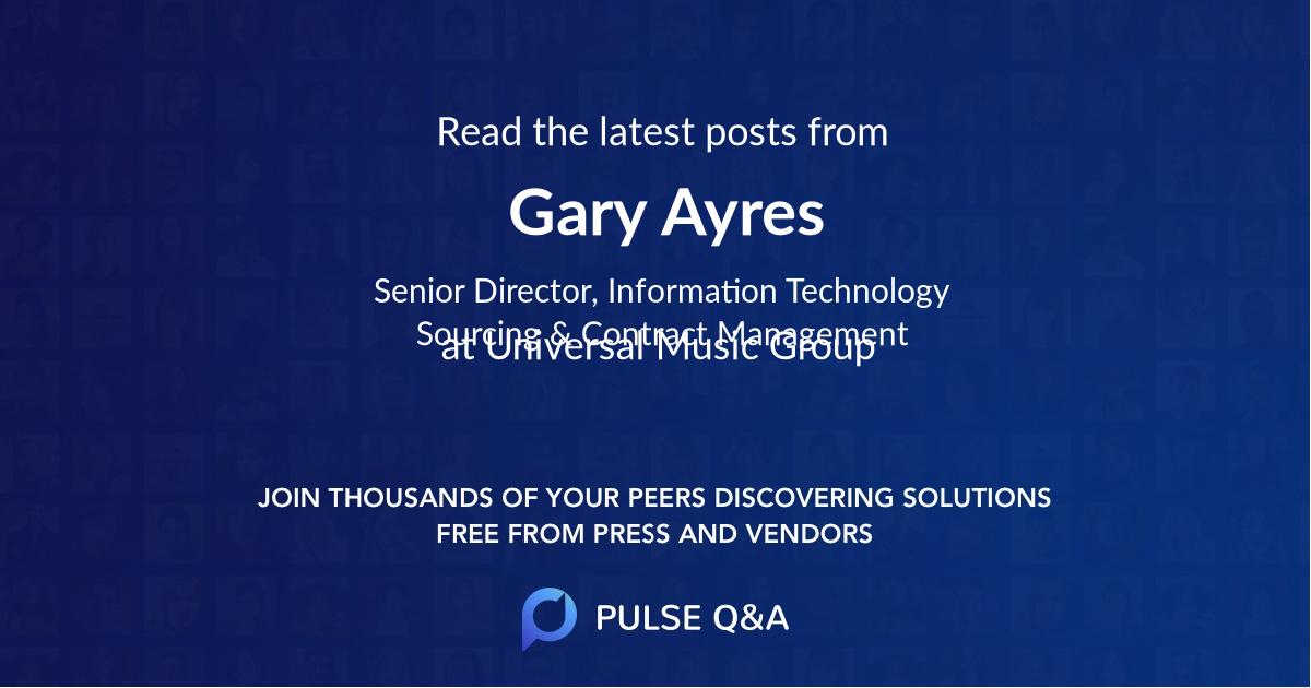 Gary Ayres