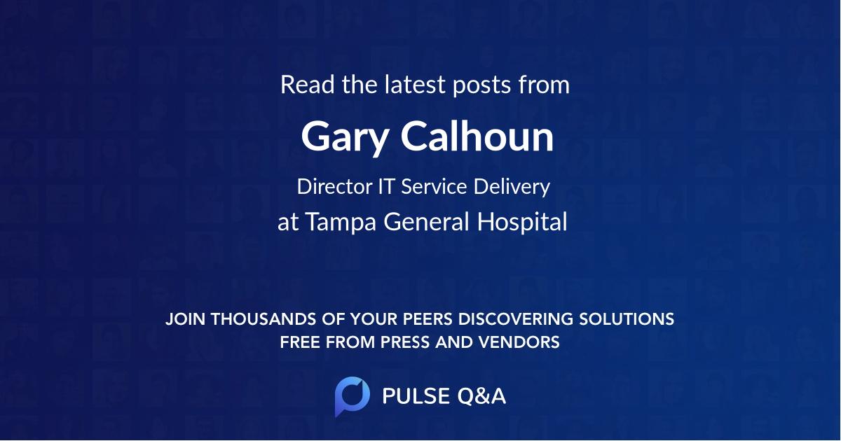 Gary Calhoun