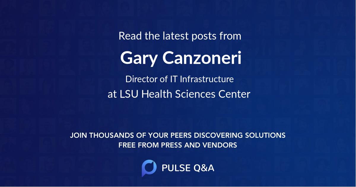 Gary Canzoneri
