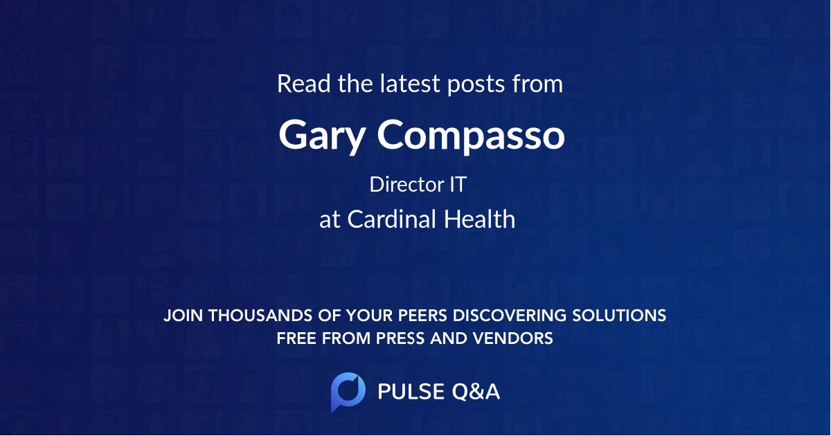 Gary Compasso