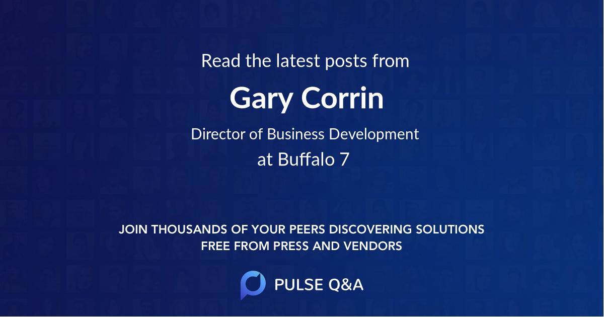 Gary Corrin