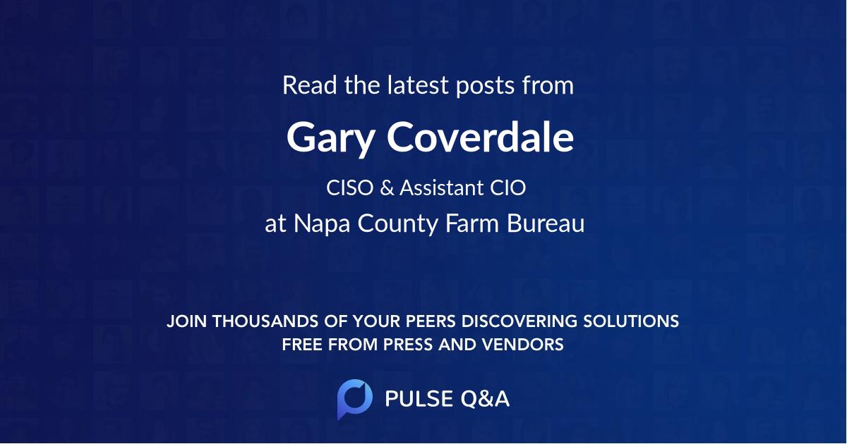 Gary Coverdale