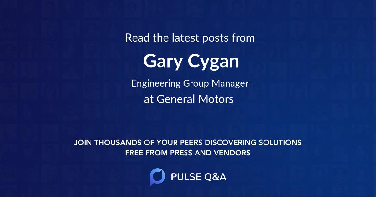 Gary Cygan