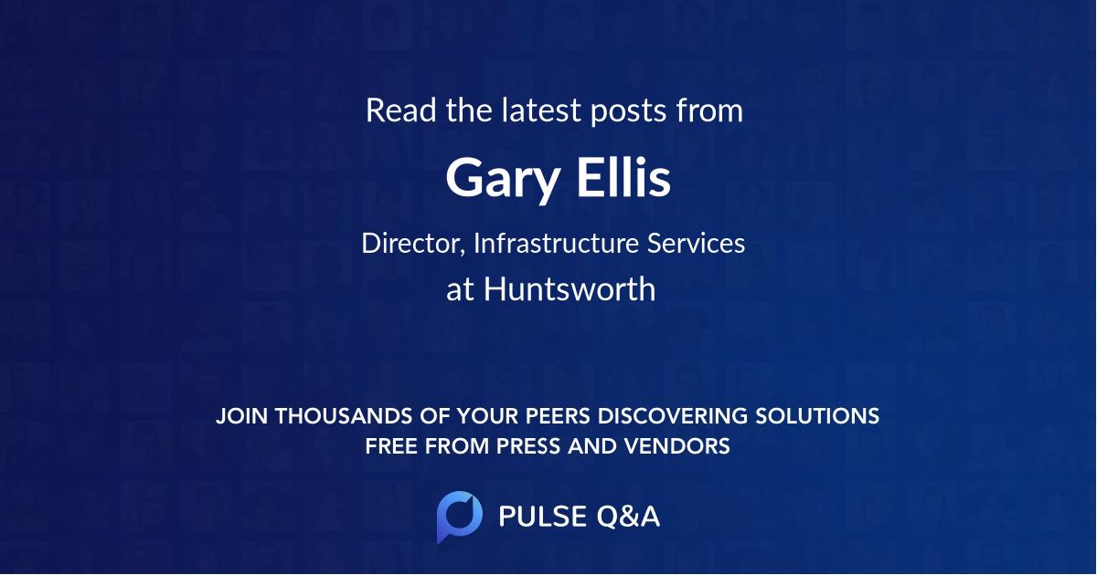 Gary Ellis